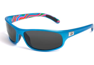 Bolle Sunglasses, Anaconda Blue Swirl Frame Polarized TNS Lens 11495