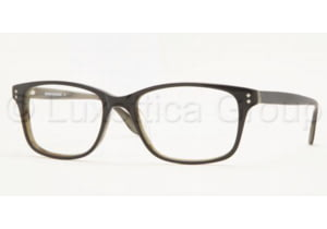 Brooks Brothers BB 711 Eyeglasses Styles Black/Green Horn Frame w/Non-Rx 52 mm Diameter Lenses, 5315-5217, Brooks Brothers BB 711 Eyeglasses Styles Black/Green Horn Frame w/Non-Rx 52 mm Diameter Lenses
