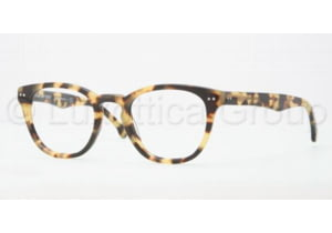 Brooks Brothers BB2005 Single Vision Prescription Eyeglasses 6004-4720 - Spotty Tortoise Frame, Demo Lens Lenses