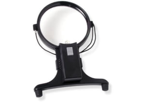 Carson MagniFree 2x Hands-Free Lighted Magnifier with 4x Spot Lens with Neck Cord HF-15