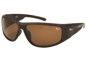 Coleman 6005 Single Vision Prescription Sunglasses - Matte Brown Tortoise Shell Frame CC1 6005-C3RX