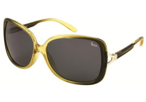 Coleman 6020 Polarized Sunglasses - Yellow Frame, Black Lenses CC1 6020-C3