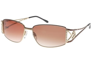 Diva 4127 Sunglasses - Brown-Gold (726)
