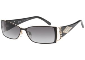 Diva 4150 Sunglasses with 206 Black Frame and Grey Lens 4150-206