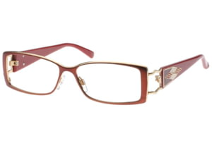 Diva 5305 Eyeglasses with Brown-Red 208 Frame