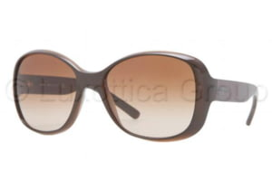 DKNY DY4102 Sunglasses 358813-5717 - Brown Frame, Brown Gradient Lenses