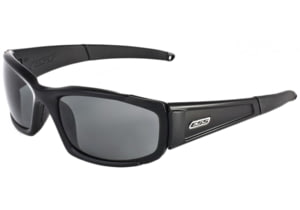 ESS CDI Sunglasses - Polarized Mirrored Gray Lenses, Black Frame 740-0529