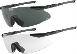 ESS ICE-2X NARO Eyeshields, Narrow Fit - 5.5in Wide - 740-0001