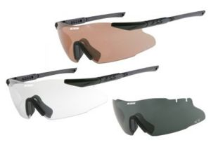 ESS ICE Tactical LE Interchangeable Eyeshield Safety Glasses Kit 740-0007