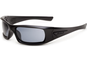 ESS Sunglasses 5B Black Frame/Polarized Mirrored Gray Lens