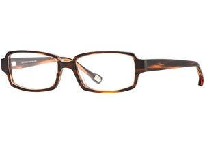 Hickey Freeman HF Amherst SEHF AMHE00 Progressive Prescription Eyeglasses - Auburn Stripe SEHF AMHE005445 RD
