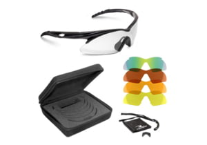 Radians Shift Interchangeable Lens Shooting Glasses