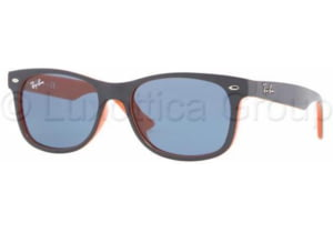 Ray-Ban Junior RJ9052S Sunglasses 178/80-4715 - Top Blue On Orange Blue