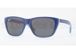 Ray-Ban RJ9053S Sunglasses 180/87-5115 - Top Dark Blue On Azure Gray