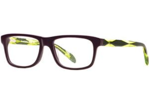 Rough Justice RJ Electro SERJ ELEC00 Progressive Prescription Eyeglasses - Dazzling Purple SERJ ELEC005335 PU