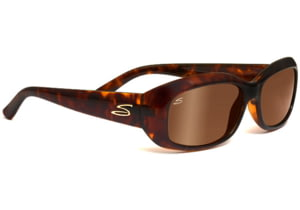 Serengeti Bianca Sunglasses Dark Tortoise Frame Drivers Gold Polarized Lenses 7699