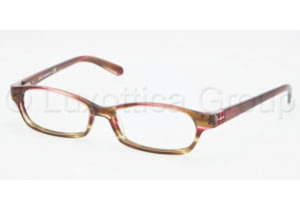 Tory Burch TY2016B Bifocal Prescription Eyeglasses 981-5015 - Pink Olive Tortoise