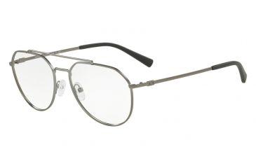 24da9f7645d Armani Exchange AX1029 Progressive Prescription Eyeglasses 6088-57 - Matte  Gunmetal Frame