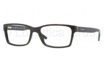0d672e28d9c Burberry BE2108 Single Vision Prescription Eyeglasses 3001-5416 - Black  Frame