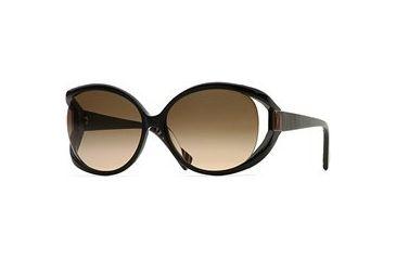 Carmen Marc Valvo CM Carmina SECM CARM06 Single Vision Prescription Eyewear - Black Lacquer SECM CARM066125 BK