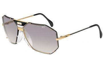 e5781ccc9f Cazal Womens 905 Sunglasses - Black-Gold Frame w  Grey Gradient Lenses