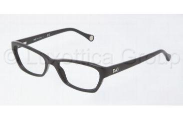 D&G DD1216 Progressive Prescription Eyeglasses 501-5016 - Black