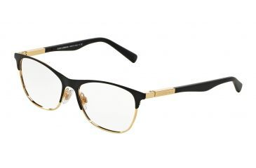dolcegabbana lipstick dg1246 eyeglass frames 1220 53 matte blackgold frame demo