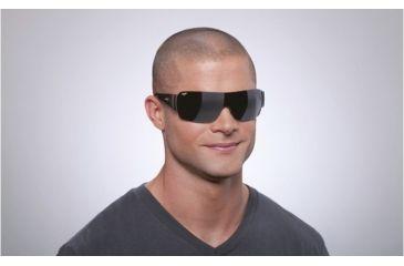 Maui Jim Honolulu Sunglasses w/ Gunmetal Frame and Neutral Grey Lenses - 520-02, On Model