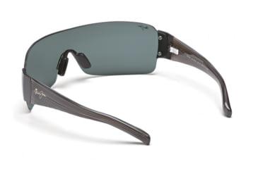 Maui Jim Honolulu Sunglasses w/ Gunmetal Frame and Neutral Grey Lenses - 520-02, Back View