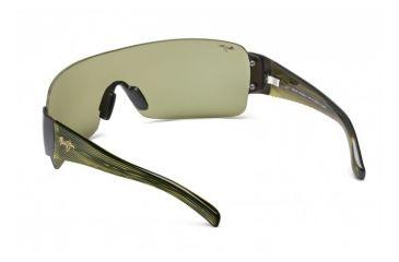 Maui Jim Honolulu Sunglasses w/ Gunmetal Frame and Maui HT Lenses - HT520-15, Back View
