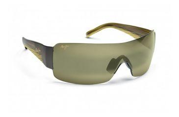 Maui Jim Honolulu Sunglasses w/ Gunmetal Frame and Maui HT Lenses - HT520-15, Quarter View