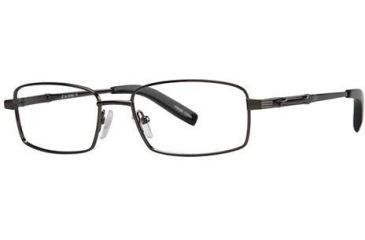 LAmy C by L'Amy 603 Single Vision Prescription Eyeglasses - Frame Gunmetal, Size 53/17mm CYCBL60301