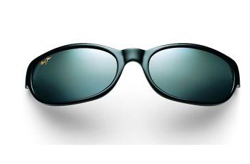 Maui Jim Cyclone Sunglasses - Gloss Black Frame, Neutral Grey Lenses - 136-02
