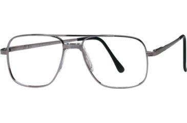 National NA0057 Eyeglass Frames - Matte Gun Metal Frame Color