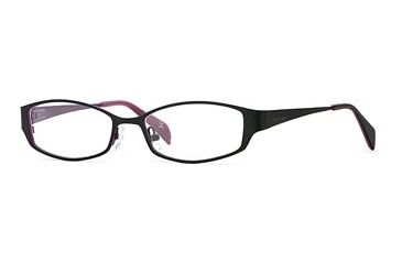Nicole Miller Collection NL Double Vision SENL DOUB00 Progressive Prescription Eyeglasses - Blackberry SENL DOUB005135 BK