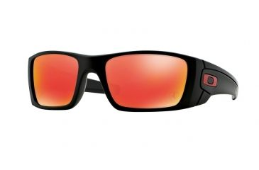 oakley prescription sunglasses varifocal  opplanet oakley fuel cell sunglasses matte black frame ruby iridium lens oo9096 a8