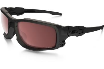 prescription ballistic glasses oakley l5d0  Oakley SI Ballistic Shocktube, Matte Black OO9329-03