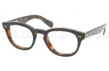e127988e523 ... 5031-4821 - Spotted Tortoise. Polo PH2066P Eyeglass Frames 5260-4821 -  Top Black Havana