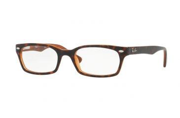 100d8401c9 Ray-Ban Eyeglass Frames RX5150 5713-50 - Top Havana On Light Brown Frame