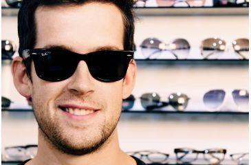 Ray-Ban RB2140 Progressive Sunglasses - Black Crystal Green Frame   50 mm  Prescription Lenses 3a34d25b5e