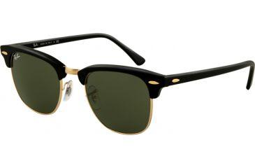 Ray-Ban RB 3016 Sunglasses - Ebony/Arista Crystal Green Frame / 51 mm Diameter Lenses, W0365-5121