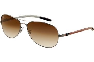 Ray-Ban Sunglasses RB8301 004/51-5914 - Gunmetal Crystal Brown Gradient