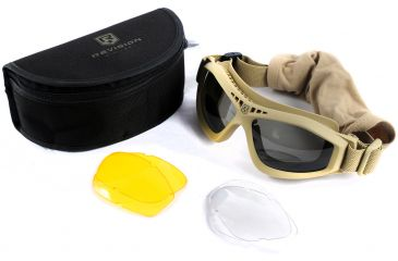 5a7577f32d Revision Eyewear Bullet Ant Tactical Goggles - Deluxe kit with Clear ...