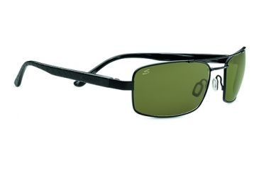a443b2f4a618 Serengeti Tosca Single Vision Prescription Sunglasses, Satin Black/Black  Tortoise Laser Frame-7797SV