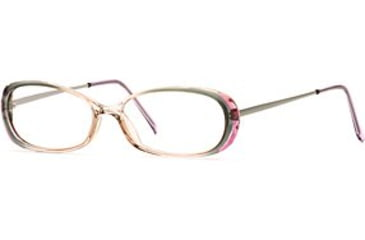 Calligraphy Collections Dainty SESC DAIN00 Progressive Prescription Eyeglasses - Hazel Mist SESC DAIN005135 GN