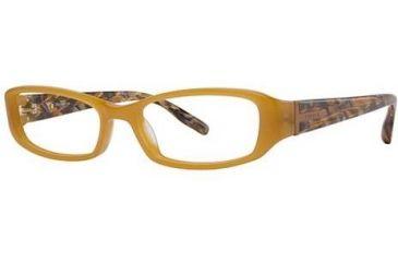 Theory TH1130 Bifocal Prescription Eyeglasses - Frame Amber/Amber Mosaic, Size 52/16mm TH113001