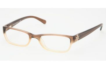 6a4cb18ad1b4 Tory Burch TY 2003 Eyeglasses Styles Brown Fade Frame w/Non-Rx 51 mm