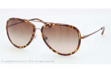 Tory Burch TY 6025 TY6025 Sunglasses 441/13-58 - Bronze Tortoise