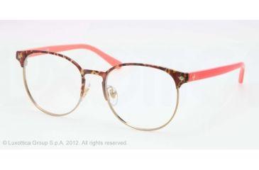 dd51ba4c3385 Tory Burch TY1038 Eyeglass Frames 115-50 - Tortoise/Gold Frame, Demo Lens