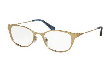 9a2d41178f Tory Burch TY1050 Eyeglass Frames 3151-51 - Satin Gold blue Mosaic Frame